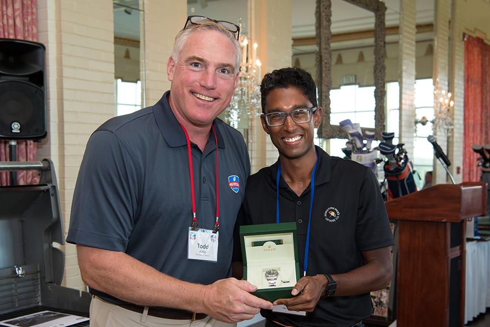 Rolex Winner Nick Ranjan K L Gates